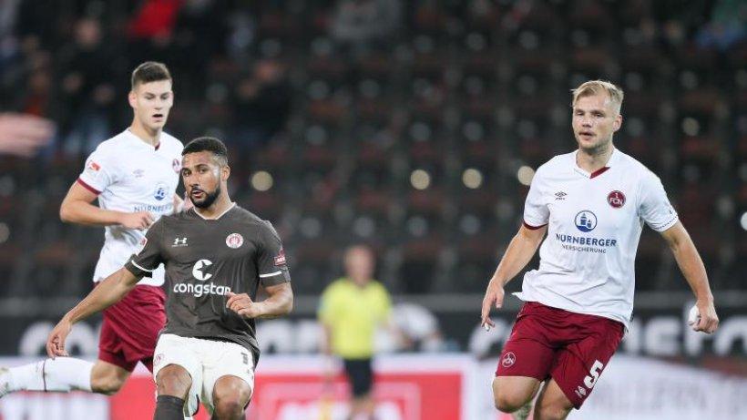 Nürnberg verspielt gegen St. Pauli zwei Mal die Führung