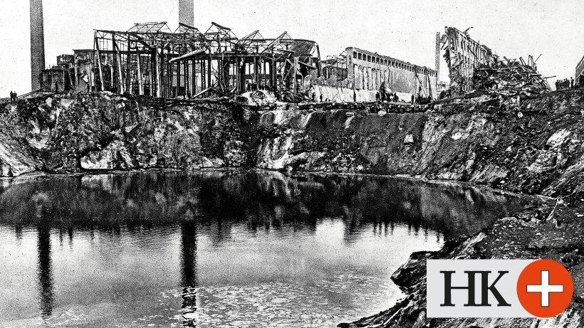 Ammoniumnitrat: Katastrophe bei BASF vor 100 Jahren - 560 Menschen starben