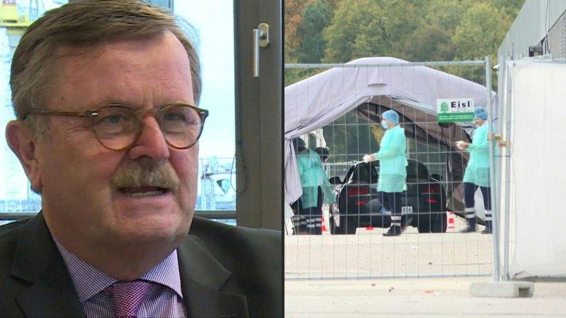 Montgomery: Lockdown ab 20.000 Neuinfektionen am Tag