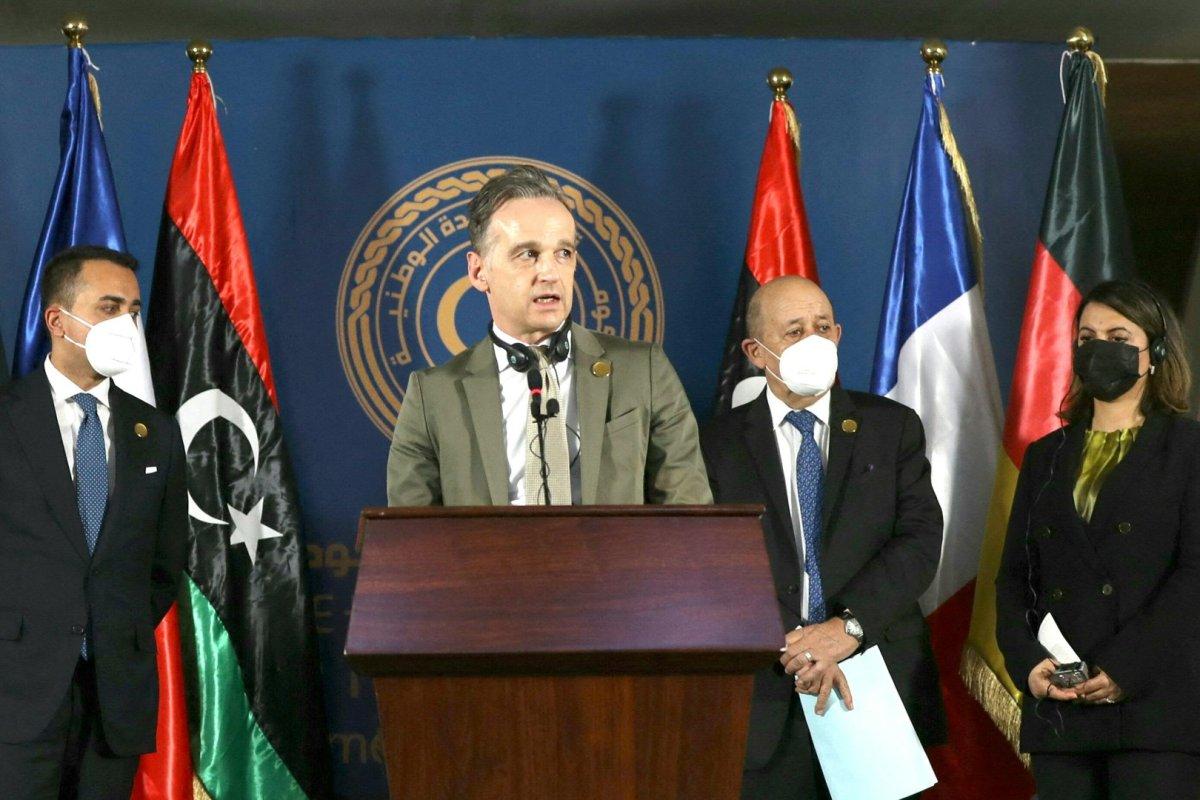 Maas zu Überraschungsbesuch in Libyen